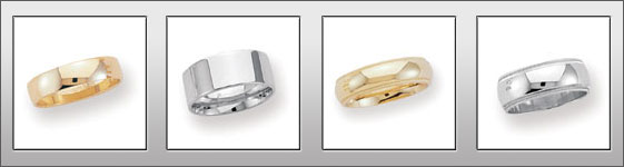 Elegant Wedding Bands and Wedding Rings